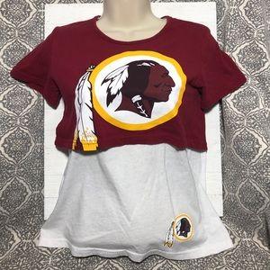 NFL - Redskins - Crop Top Shirt - SZ 10-12